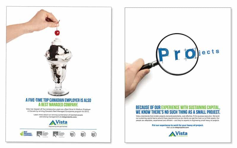 Turkey Burg Creative | Vista Projects Print Ads