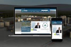Vista Projects Website Management