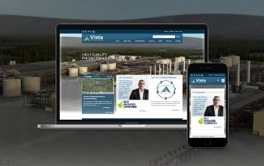 Vista Projects Website