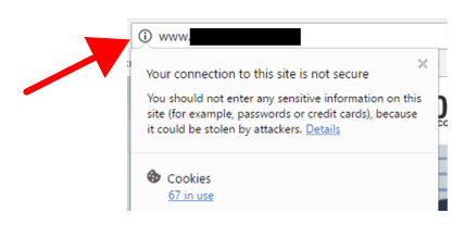 Google Chrome Browser Warning