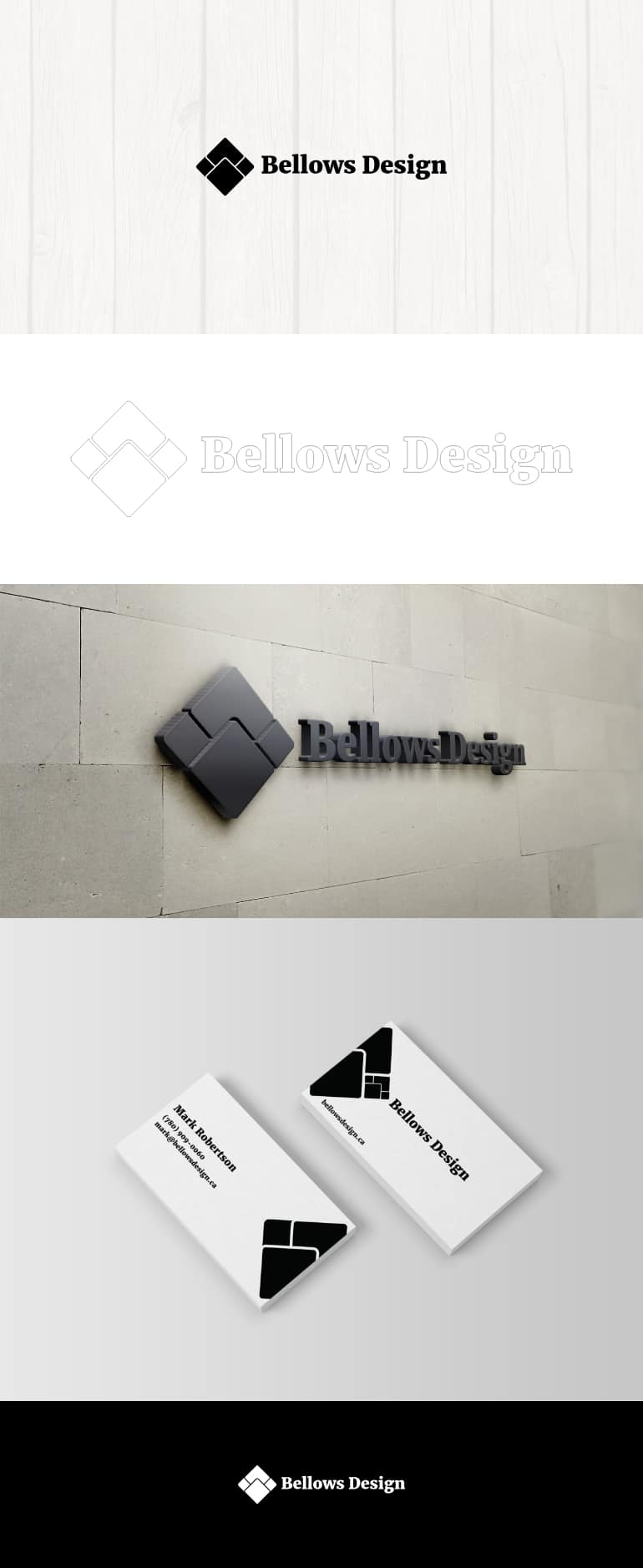 Bellows Design Identity Development