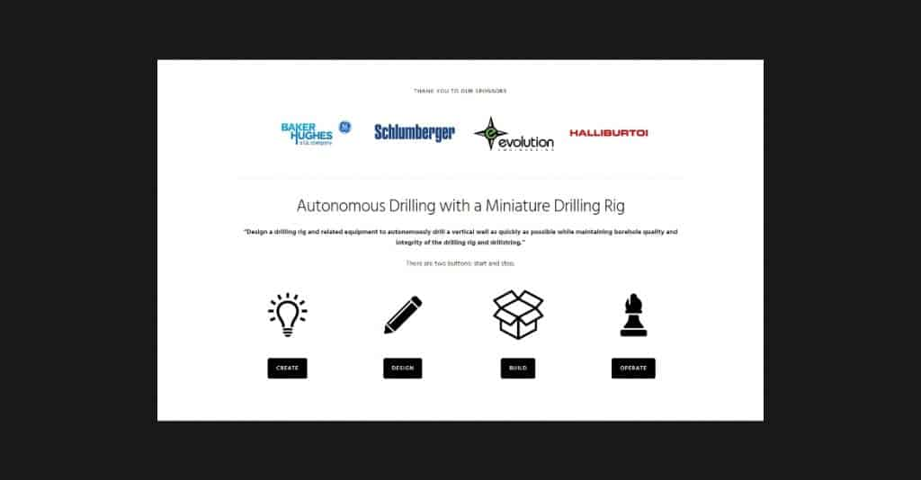 Drillbotics Website