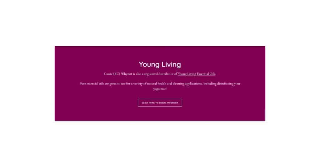 Whynot Yoga Website Development