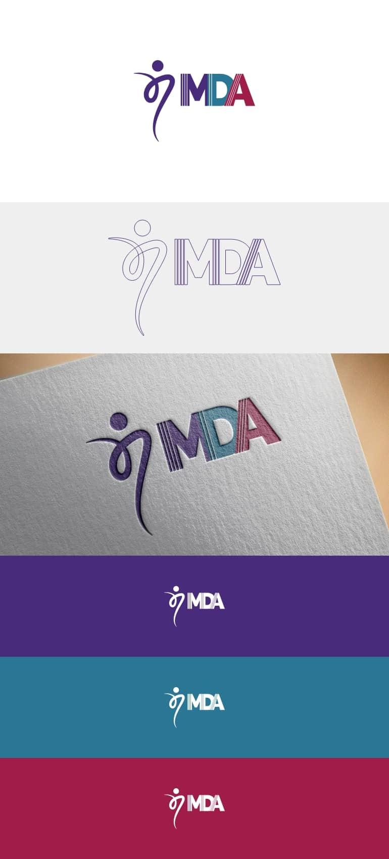 Dance Arts logo presentation